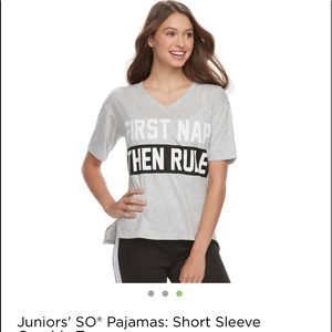 """First Nap Then Rule"" Tee"